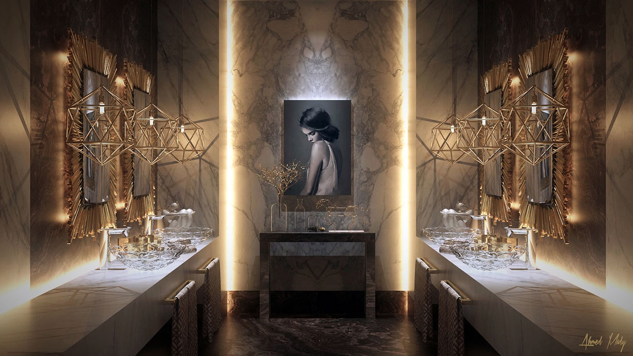 Ultra Luxury Bathroom Inspiration - Luxurious bathrooms