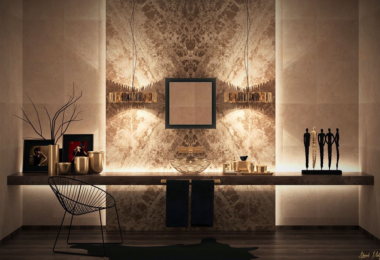 Ultra luxury bathroom inspiration for Deco de interiores