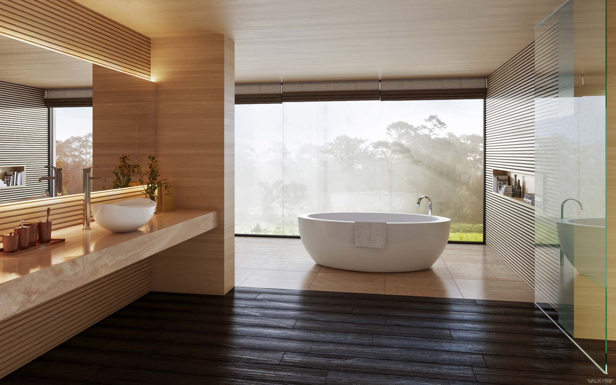 Ultra luxury bathroom inspiration for View bathroom designs