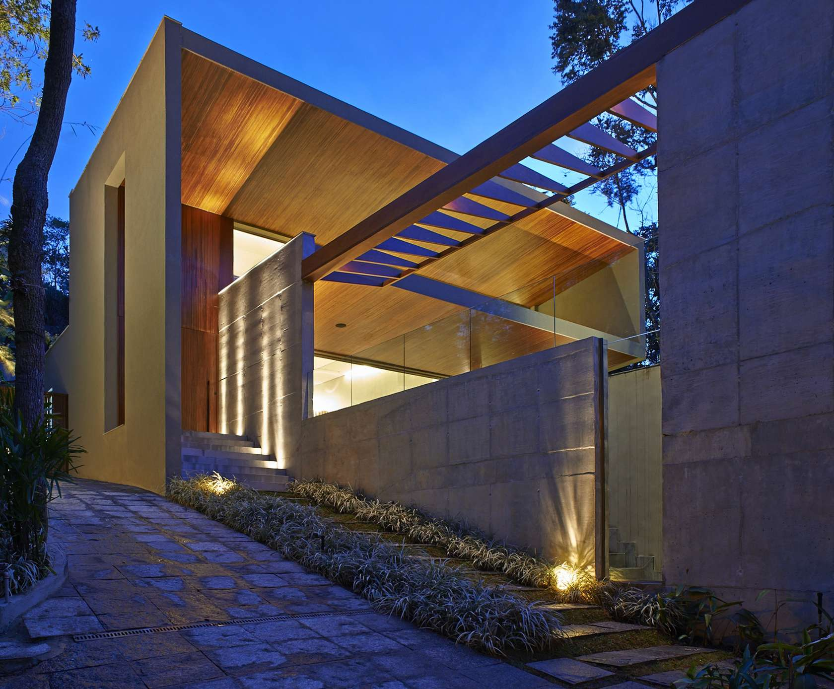 like architecture interior design follow us - Modern Home Exterior Wood