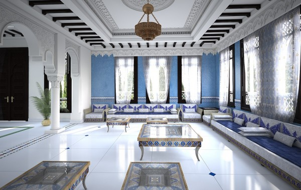 Moroccan Living Room moroccan style interior design