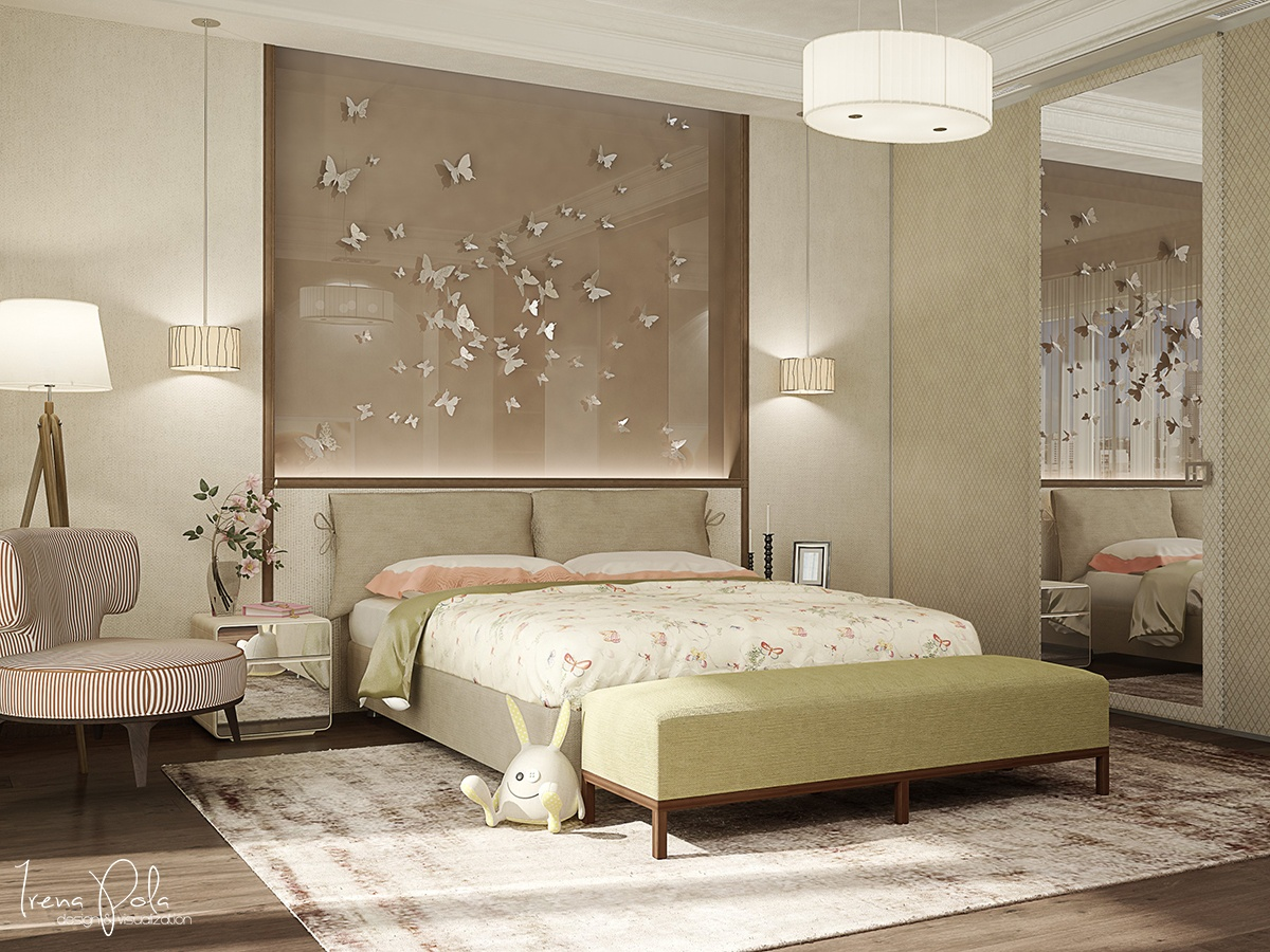 Butterfly Artwork - Super luxurious apartment in kiev ukraine