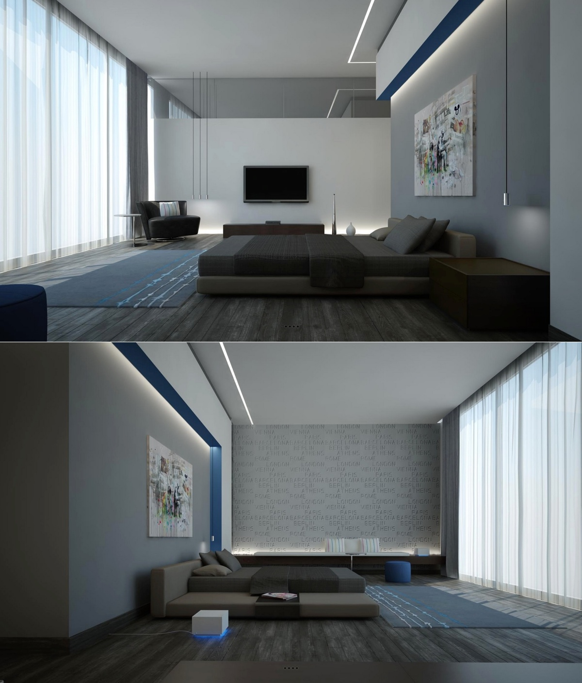Simple bedroom with tv - Simple Bedroom With Tv 17