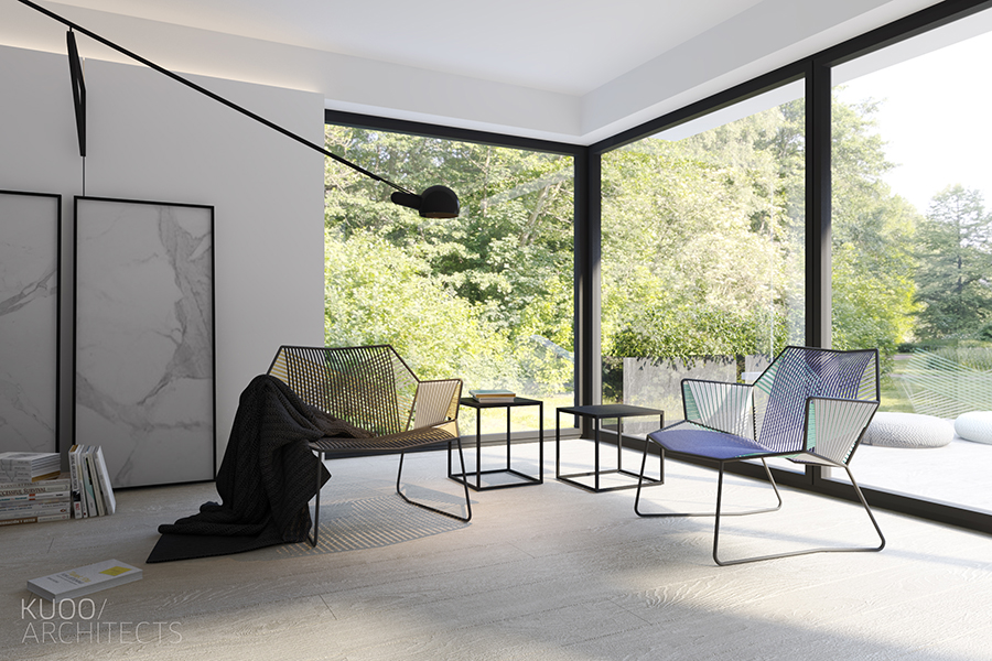 Cool Seating Ideas - Sleek and simple luxury in luxembourg