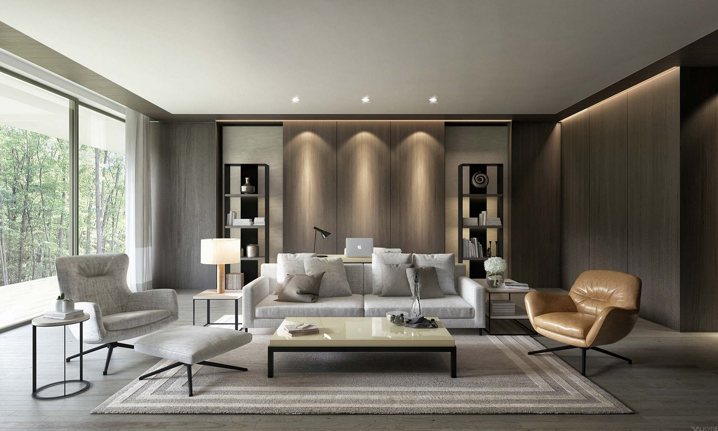 26 living rooms that put a unique spin on what modern means for Deco interieur 2015
