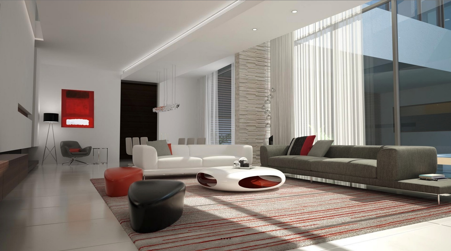 Futuristic Living Room Futuristicdecor  Interior Design Ideas.