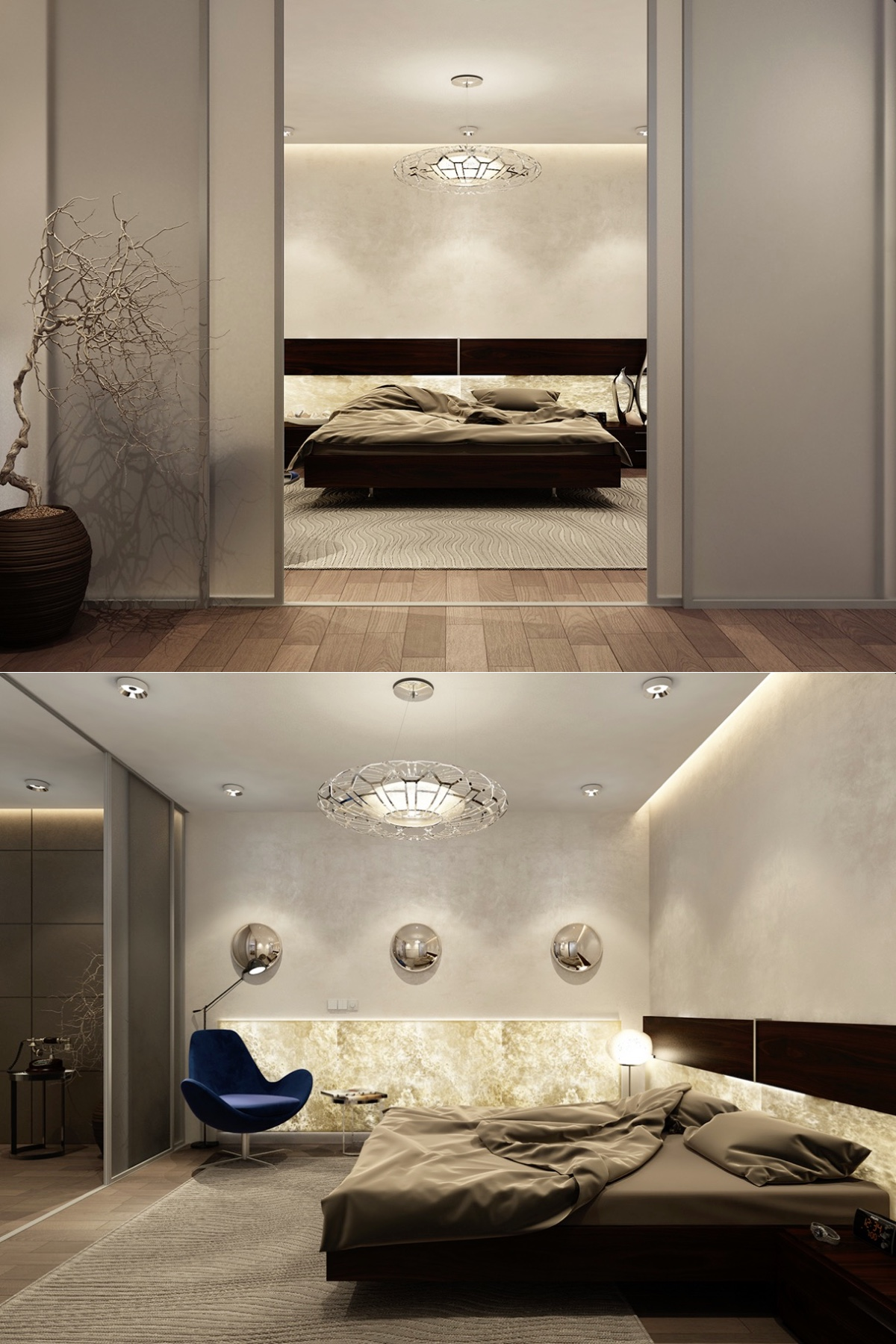 21 cool bedrooms for clean and simple design inspiration home office room calmly