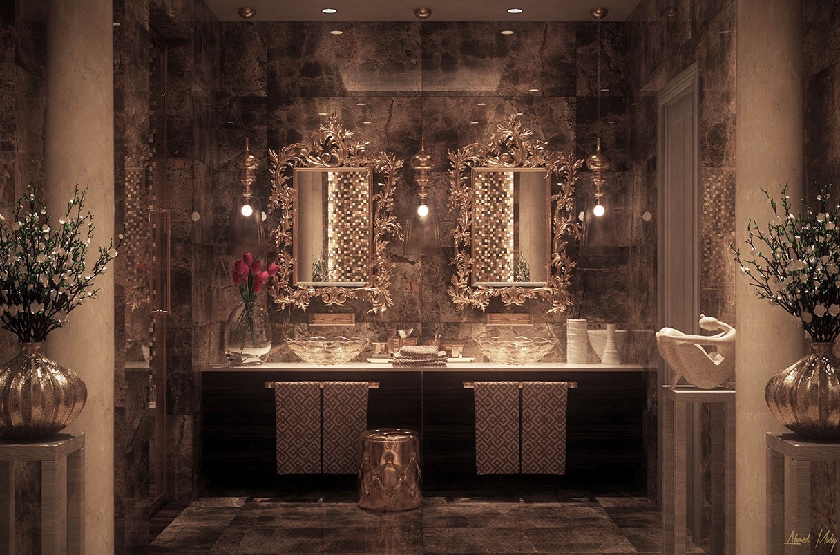 Ultra luxury bathroom inspiration Luxury design ideas