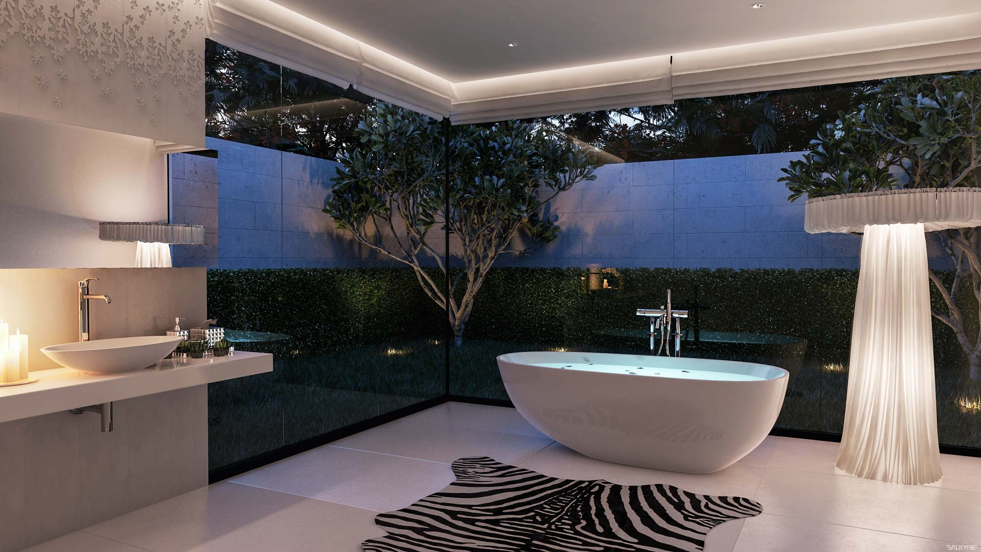Ultra luxury bathroom inspiration for Luxury bathroom ideas uk