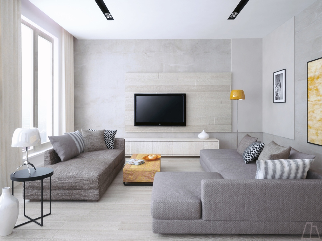 26 living rooms that put a unique spin on what modern means for Cool modern living rooms