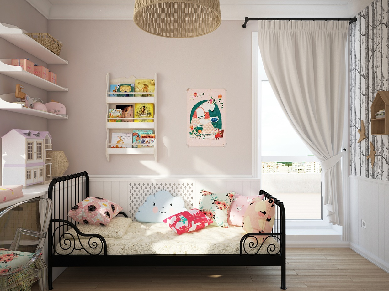 Lovely Girls Room - Cute kids rooms by fajno design