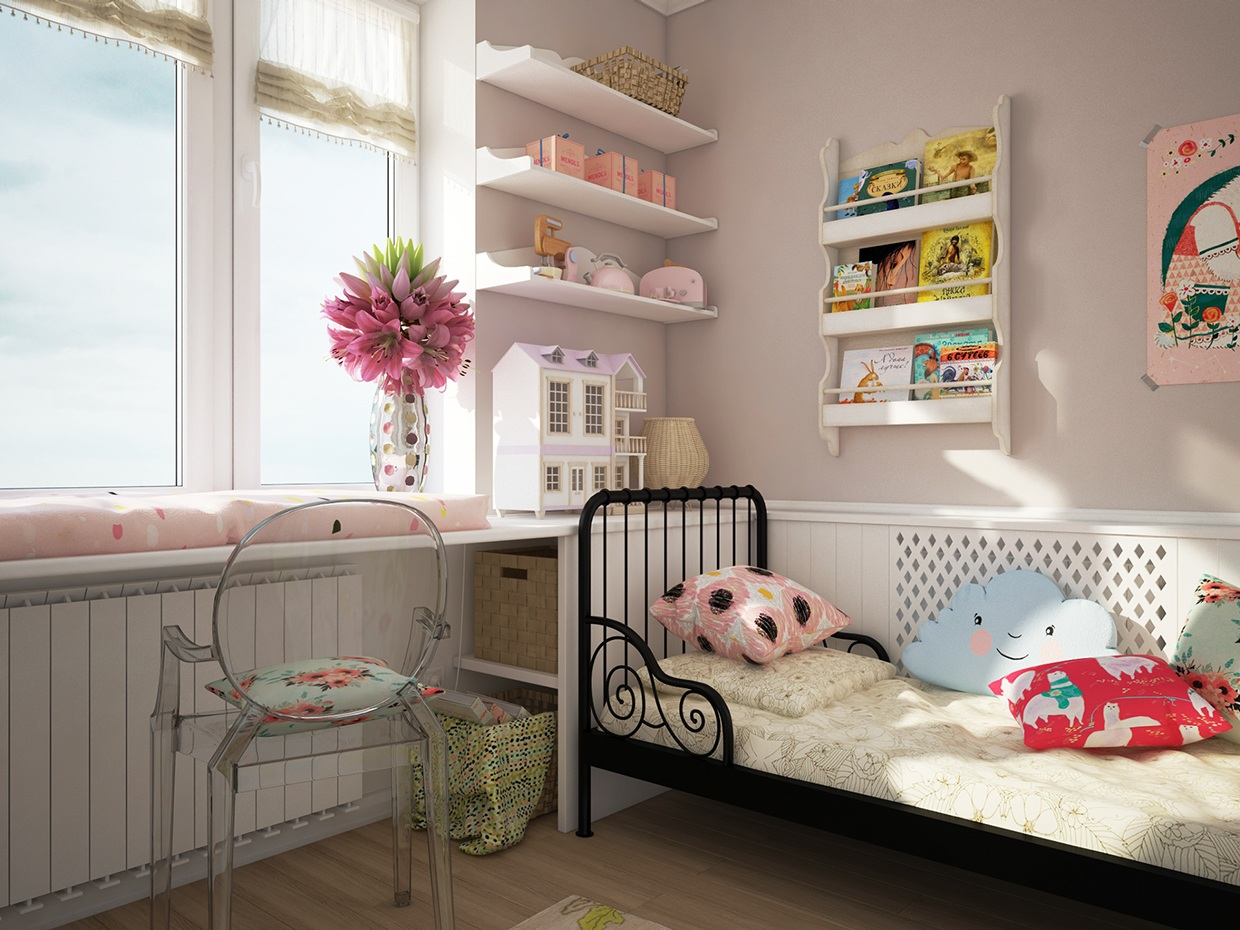 Cute kids rooms by fajno design - Deco murale chambre ...