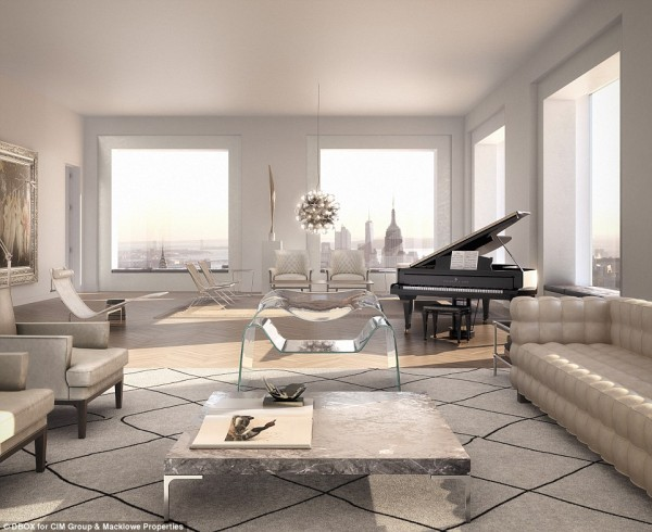 Of course, living in a massive luxury building like this one (on Park Avenue nonetheless) does not come without a price tag. The price range for the condos starts at $16.96 million and goes up from there, with the top priced unit being the sprawling penthouse suite, which listed at $95 million. Unfortunately, that one has already sold.