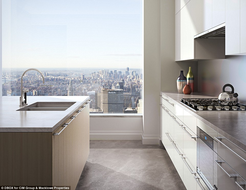 Luxury Kitchen Design - 432 park avenue the tallest residential building in the western hemisphere