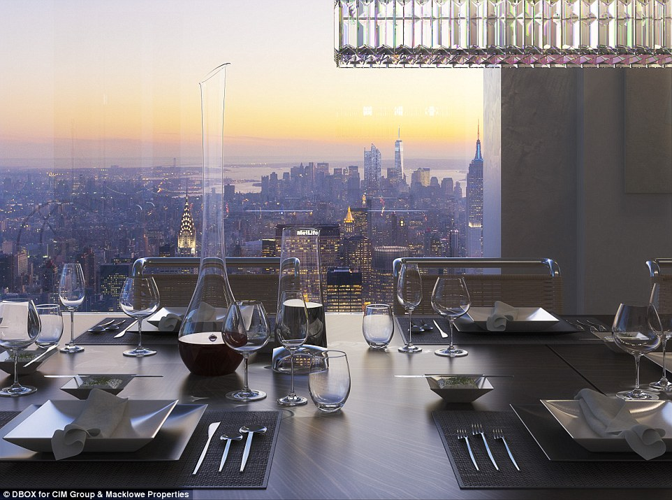 Luxury Wine Decanter - 432 park avenue the tallest residential building in the western hemisphere