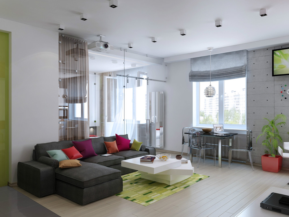 3 distinctly themed apartments under 800 square feet with for 500 square meters house design