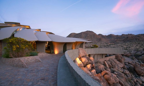 And what would a house like this be without its own private expanses to view the incredible landscape?