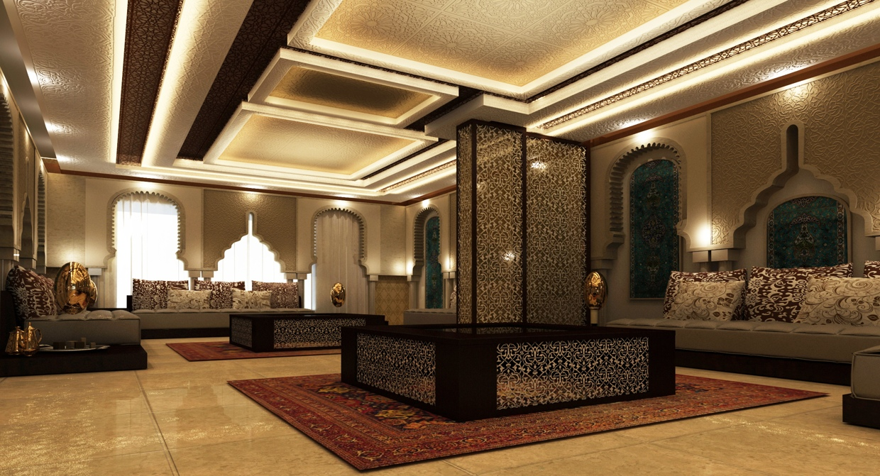 Moroccan style interior design for Modern home decor dubai