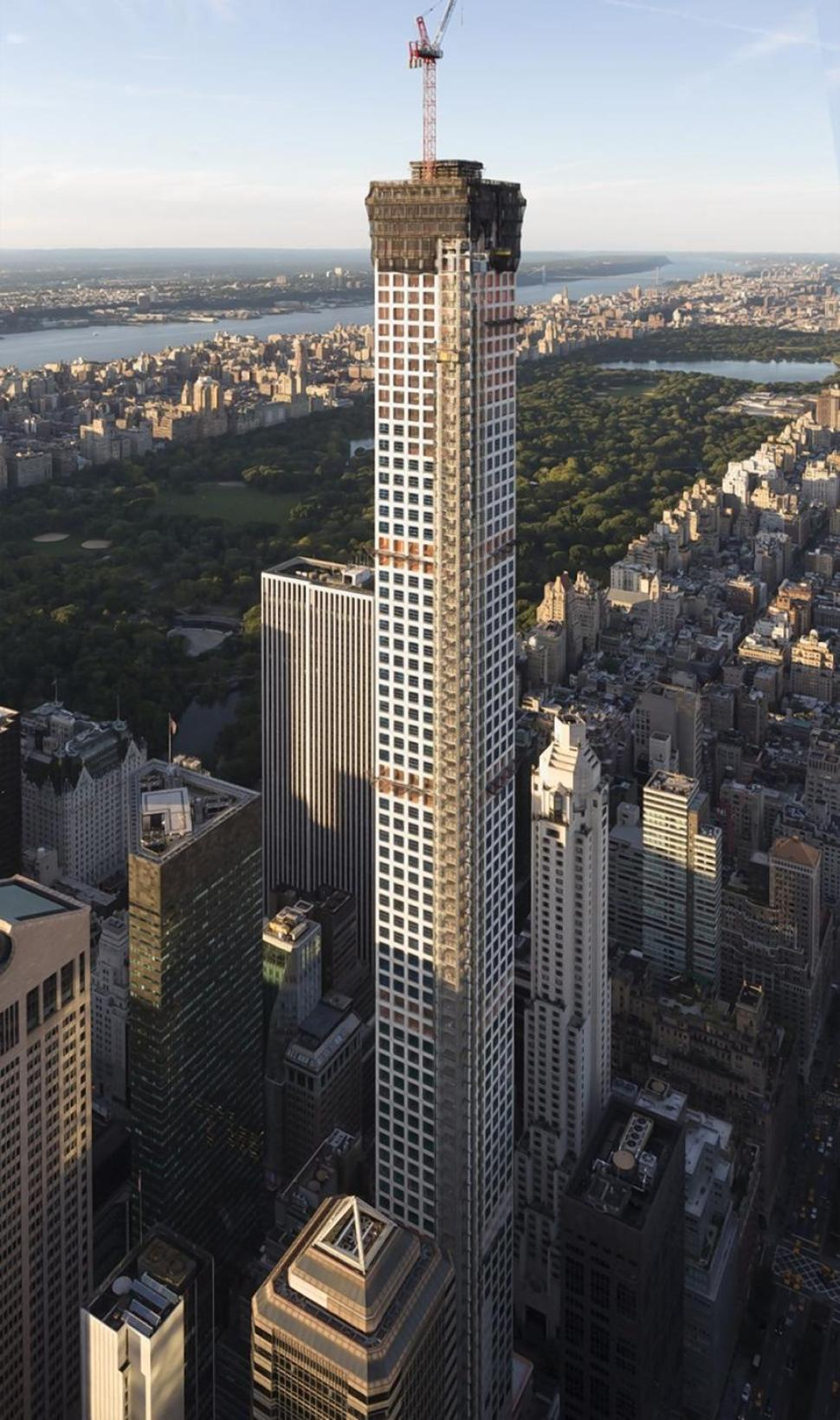 Nyc Construction - 432 park avenue the tallest residential building in the western hemisphere