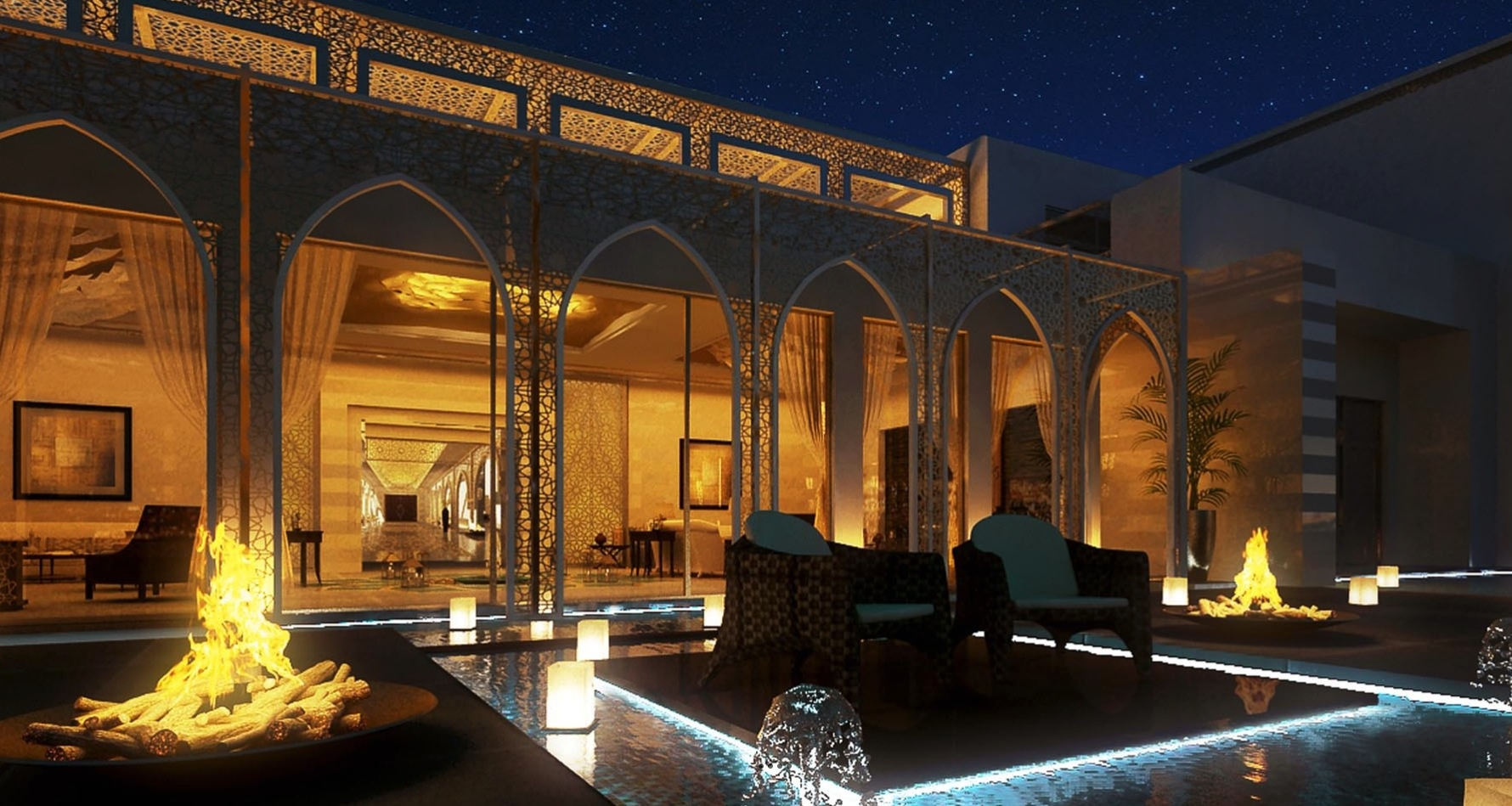 Outdoor moroccan design ideas Interior Design Ideas