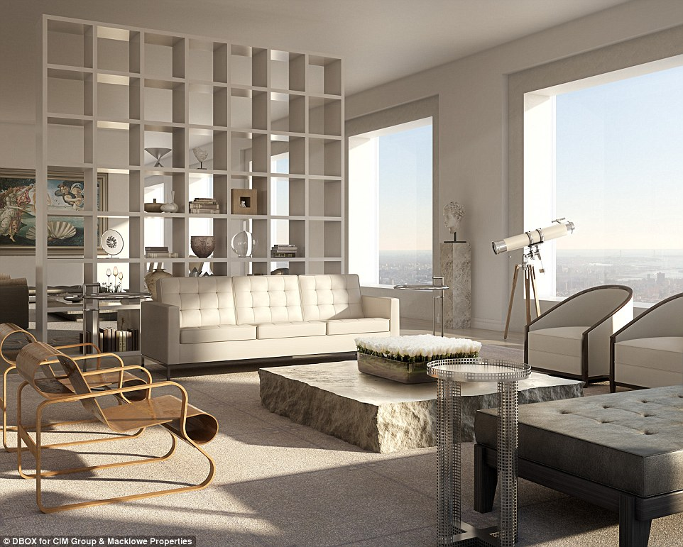 Penthouse Design - 432 park avenue the tallest residential building in the western hemisphere
