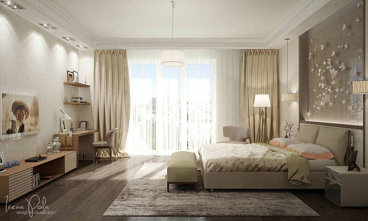 Pretty Bedroom Design - Super luxurious apartment in kiev ukraine