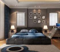 With a furnished workspace and private balcony, you would never even need to leave the comfort of this bedroom.
