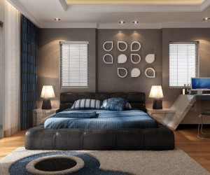 21 cool bedrooms for clean and simple design inspiration - Designer Bedroom Ideas