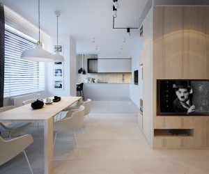 apartment design 5 lovely homes in poland with soft feminine elements - Homes Interior Designs