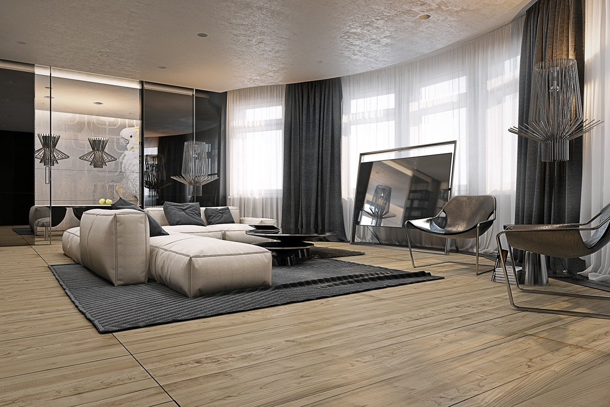 Spacious Comfortable Living Room