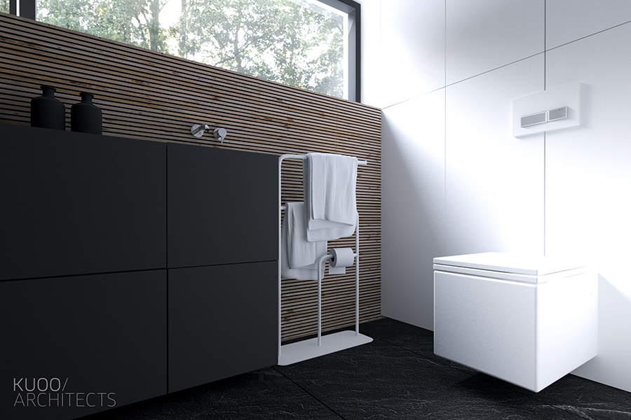 Square Toilet - Sleek and simple luxury in luxembourg
