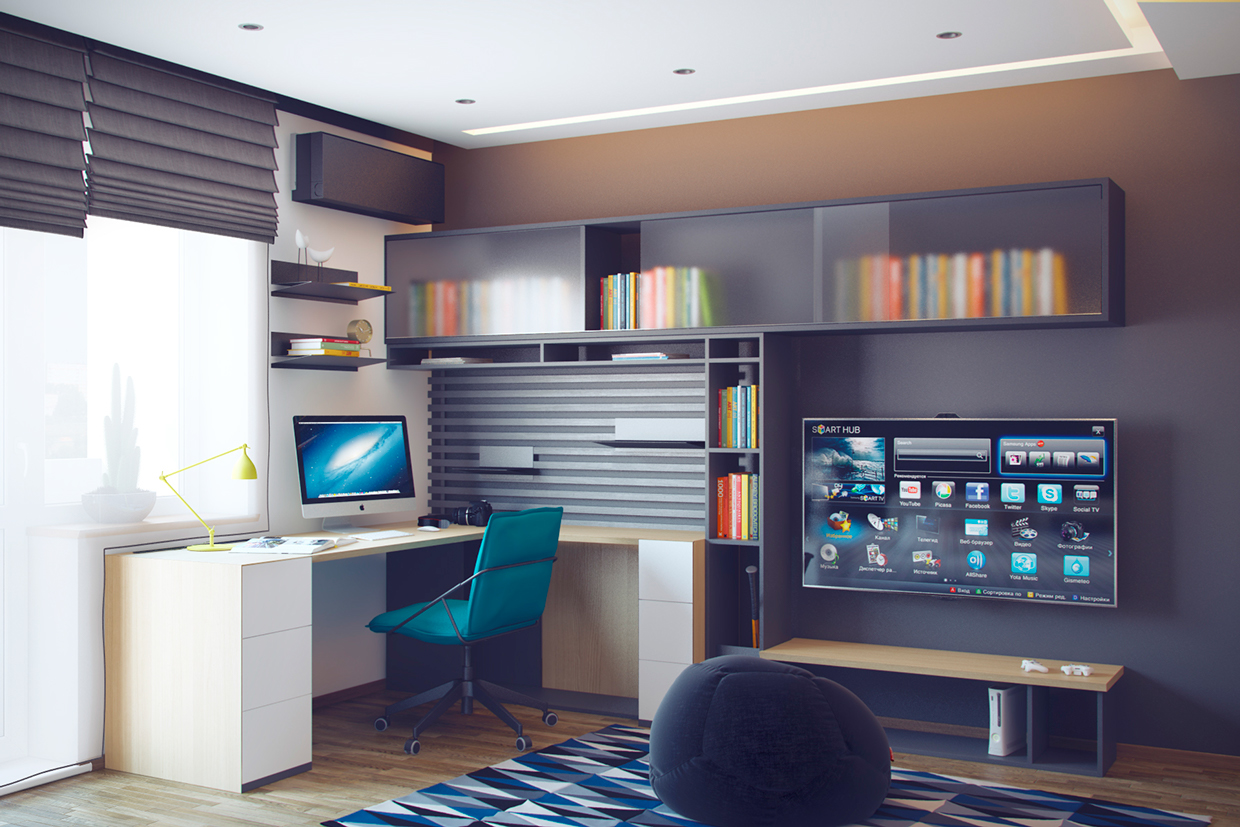 Study Space Decor - Creative bedrooms that any teenager will love