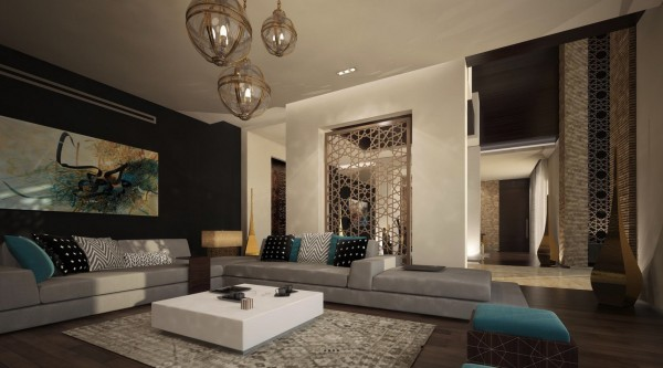 Modern moroccan home design
