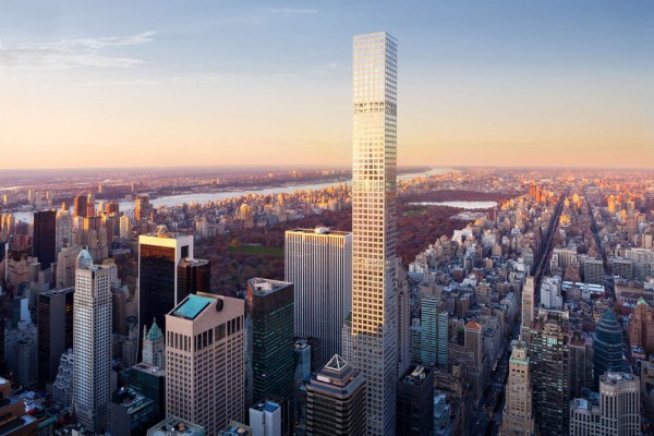 In fact, the massive building is even taller than the new building at One World Trade Center, if you don't count that building's towering spire.
