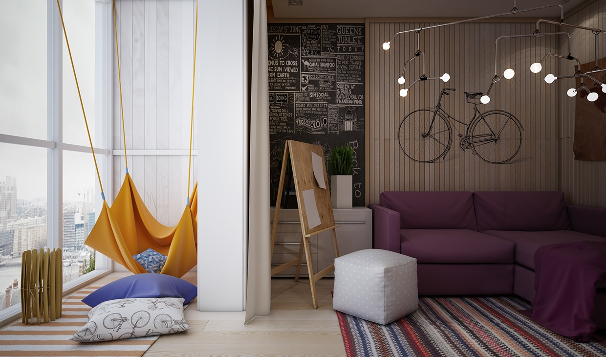 Creative bedrooms that any teenager will love for Creative bedroom designs