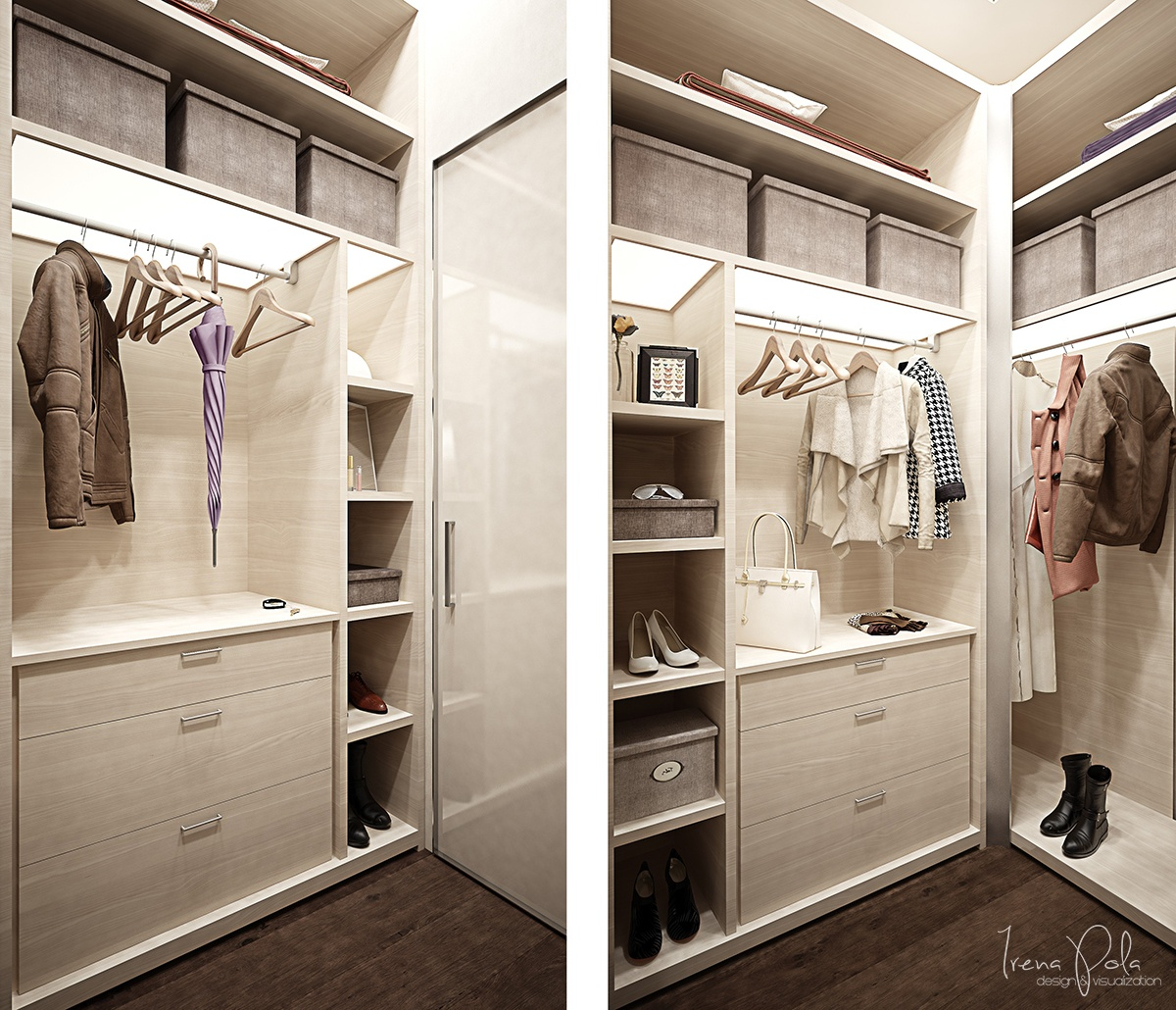 Walk in closet ideas interior design ideas for Designs for walk in closets