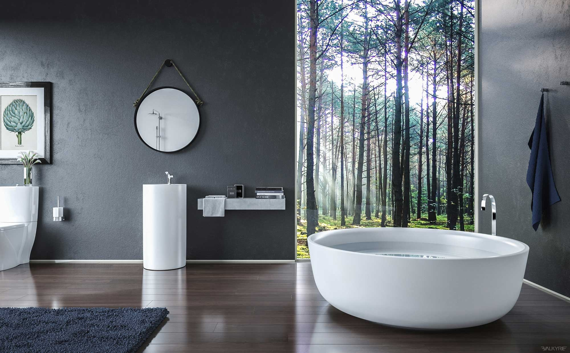 Ultra luxury bathroom inspiration - Salle de bain zen photo ...