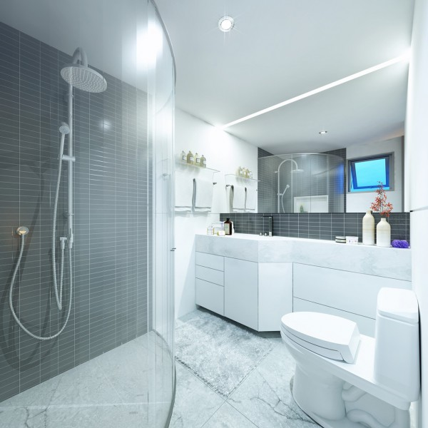 2 super small apartments under 30 square meters for Super small bathroom