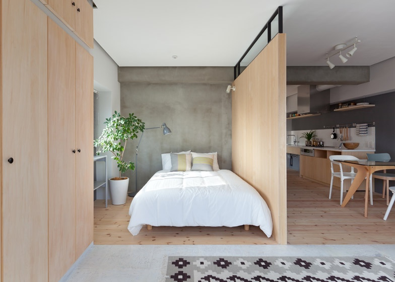 Japanese Minimalist Furniture Custom Two Apartments In Modern Minimalist Japanese Style Includes Floor . Design Ideas