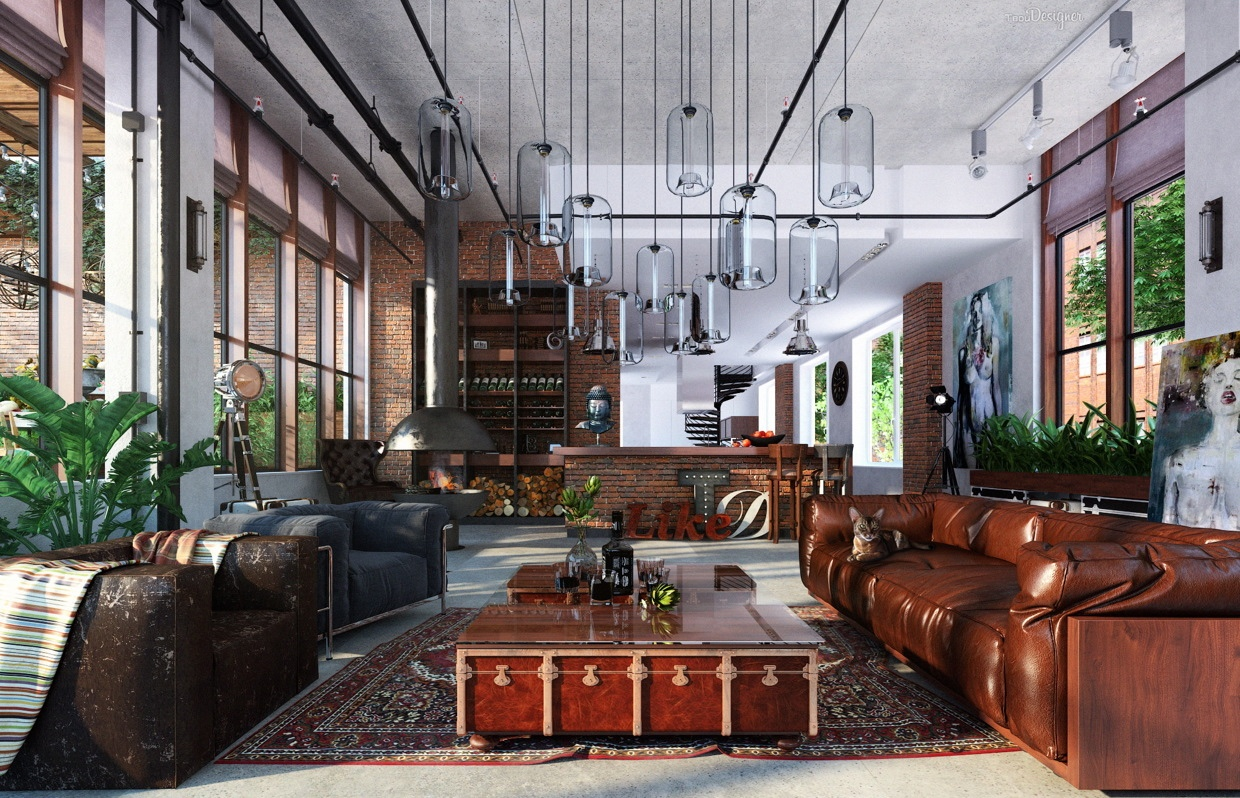 Eclectic Loft - Three creative lofts fit for stylish artists