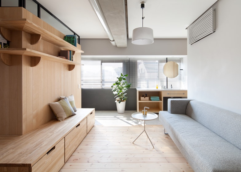 Two apartments in modern minimalist japanese style for Asia style wohnen