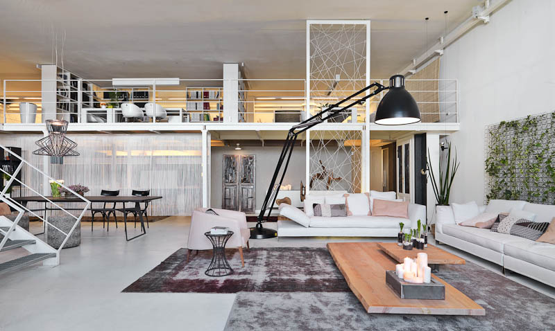 Three creative lofts fit for stylish artists for Decoracion tipo loft