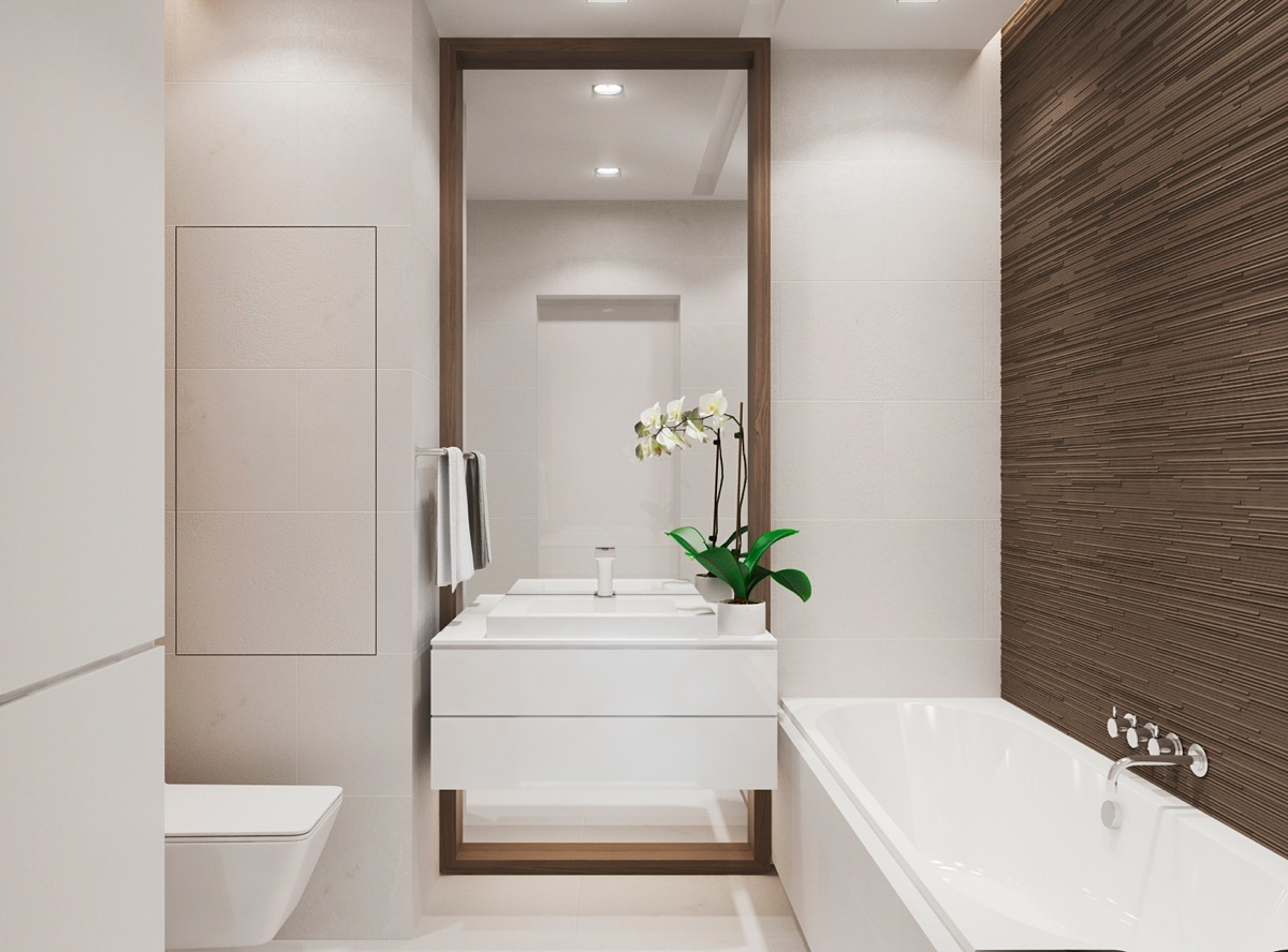 Modern Interior Design Bathroom warm modern interior design