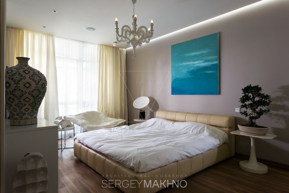 Pretty Bedroom Ideas - 3 whimsical apartment interiors from sergey makhno
