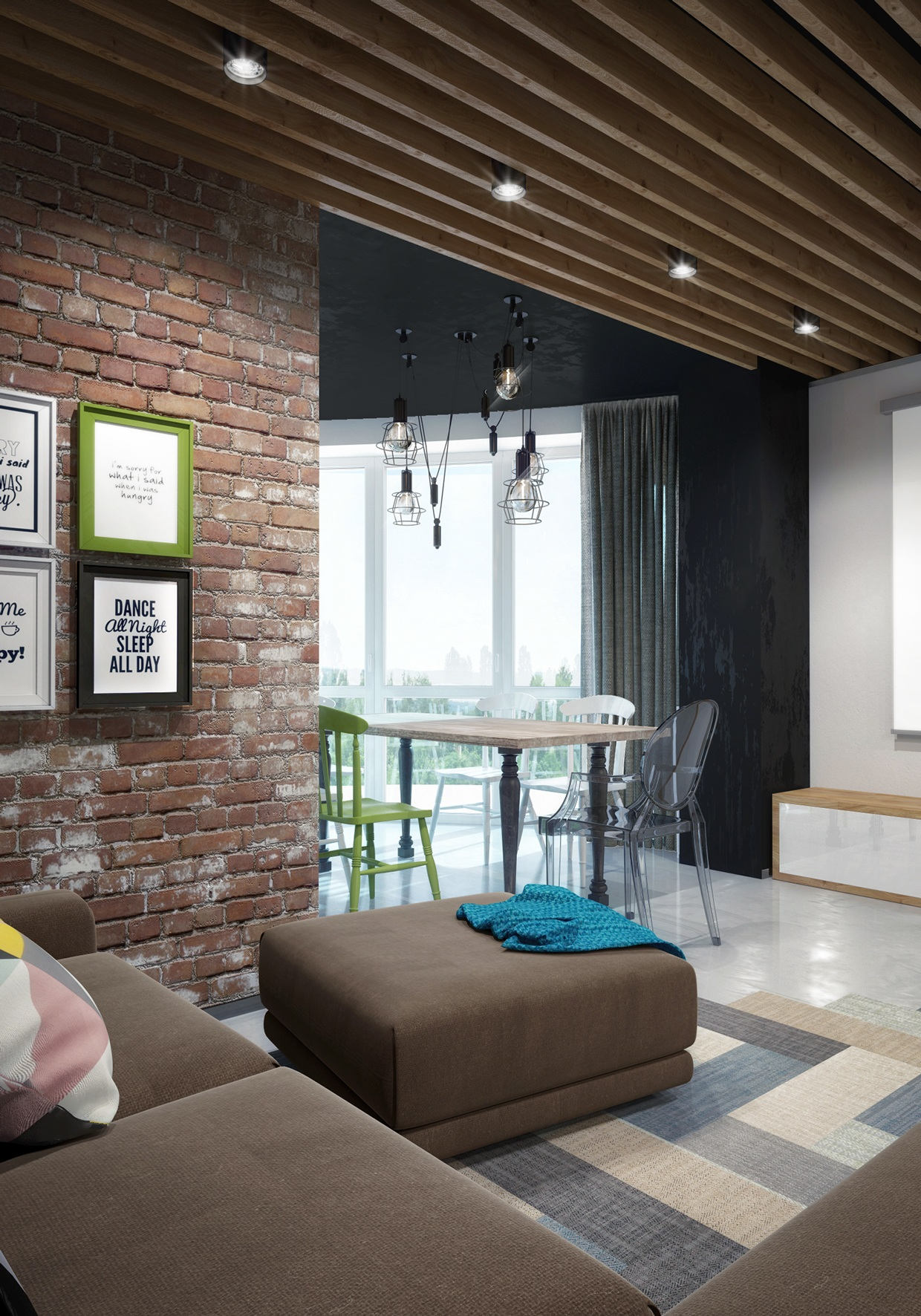 lofty design decorating ideas for living rooms.  Three Creative Lofts Fit for Stylish Artists