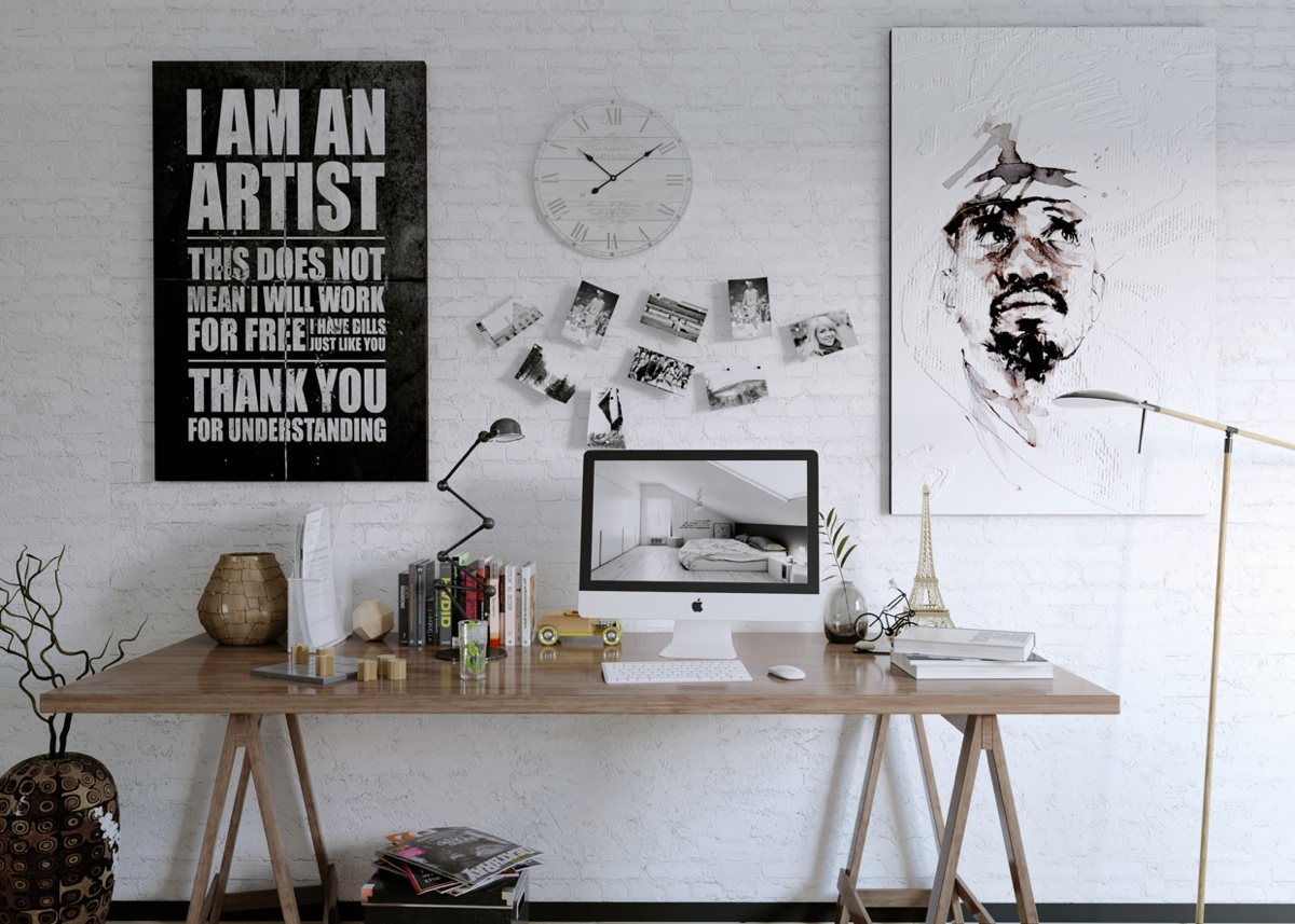 Artists workspace Interior Design Ideas