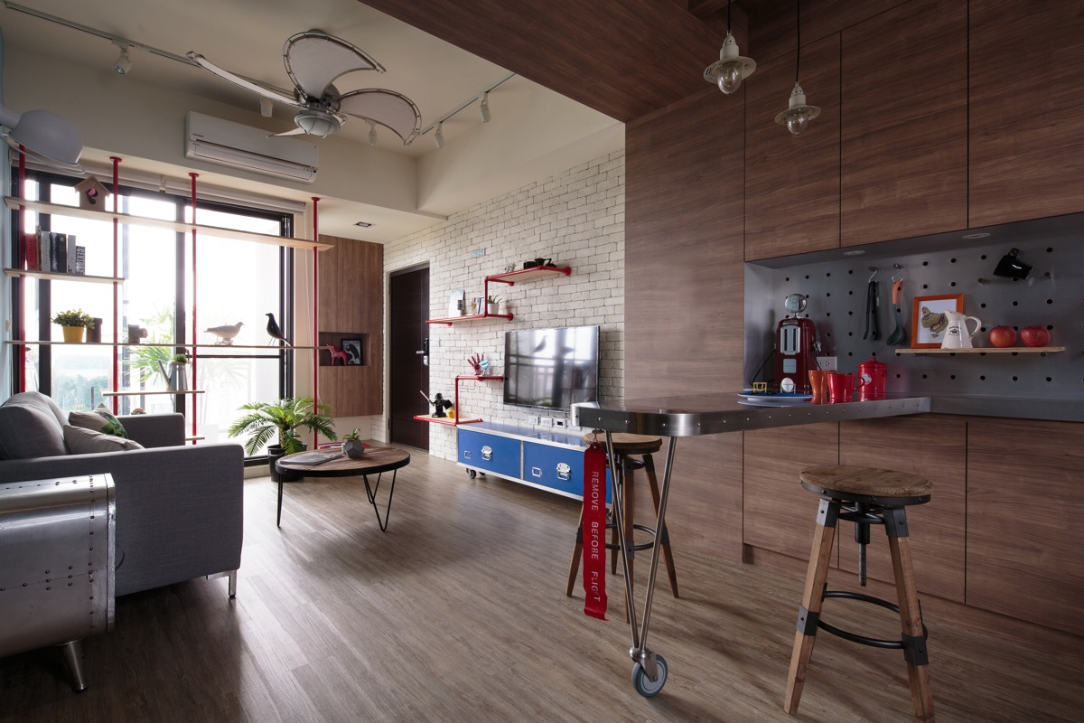 Aviation Inspiration And Superhero Dreams In A Quirky Tainan Home - Avengers inspired home decor