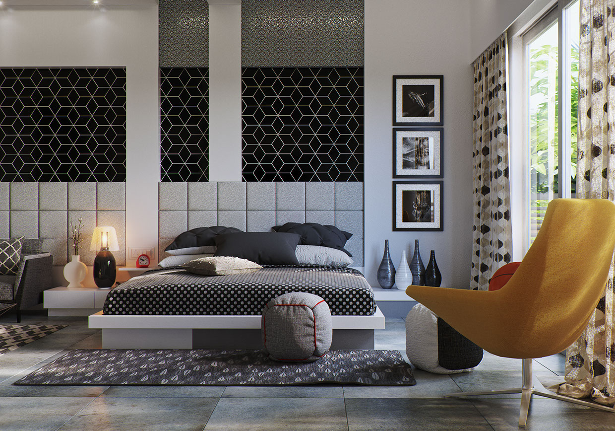 10 bedrooms for designer dreams for Design interieur chambre a coucher
