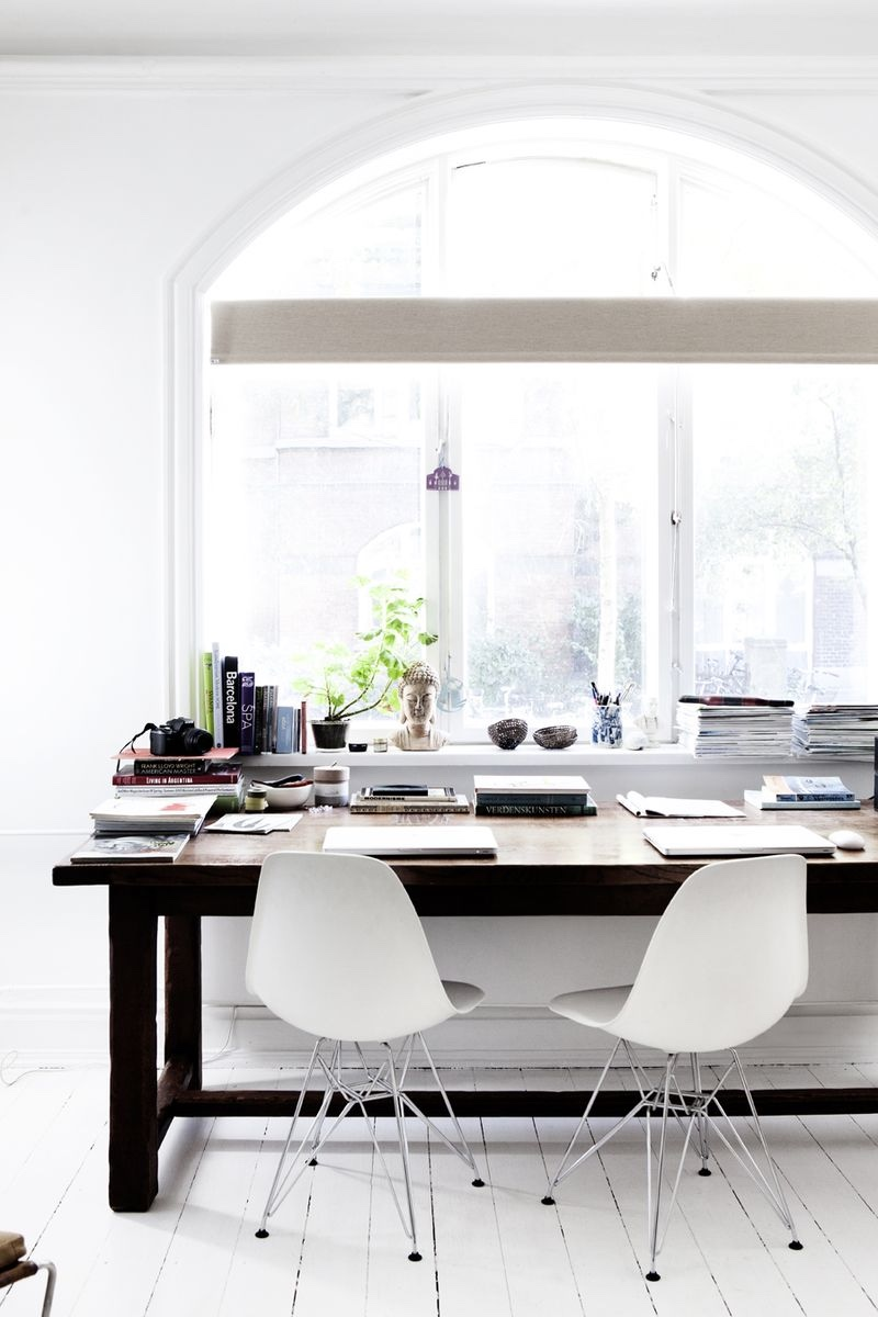Bright White Workspace - Creative and inspirational workspaces