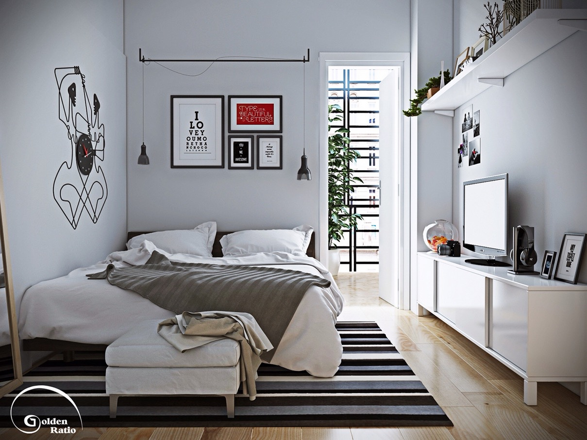 Good Bedroom Clock Furniture Ideas With Good Wallpapers Ideas